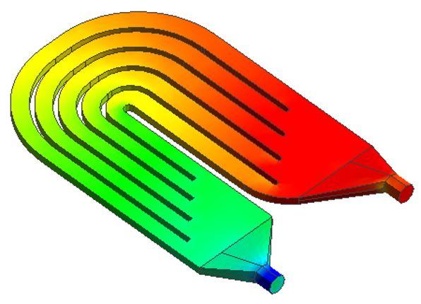 図4 圧力コンタ図